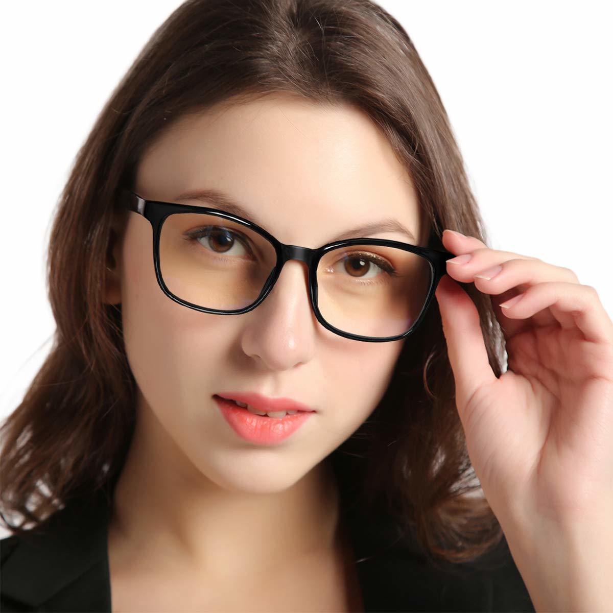 新品●Jawwei 伊達メガネ おしゃれ ブルーライトカット pcメガネ TR90 超軽量 だて 眼鏡 ファッション メガネ uv 紫外線99%カット Y6838_画像3