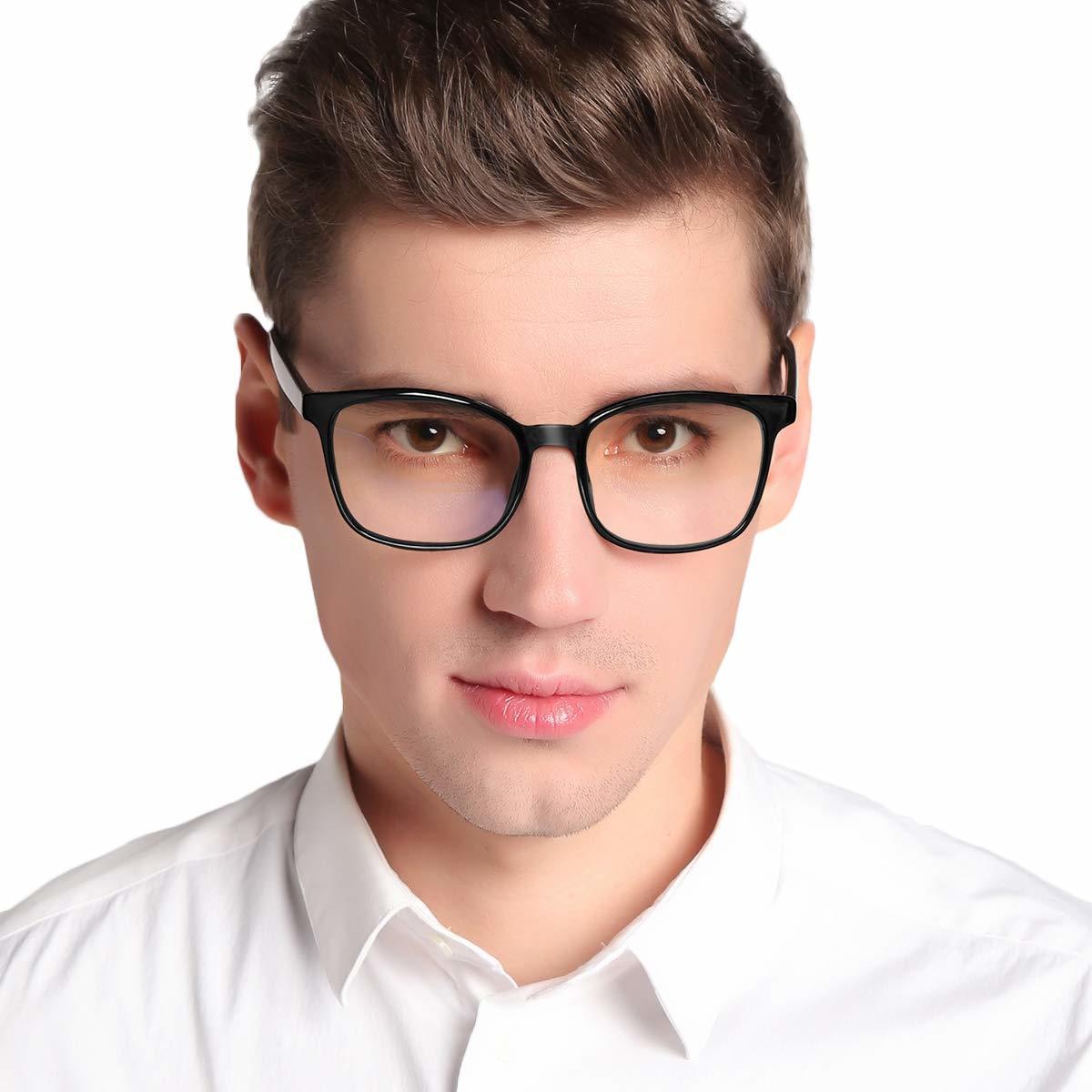 新品●Jawwei 伊達メガネ おしゃれ ブルーライトカット pcメガネ TR90 超軽量 だて 眼鏡 ファッション メガネ uv 紫外線99%カット Y6838_画像2