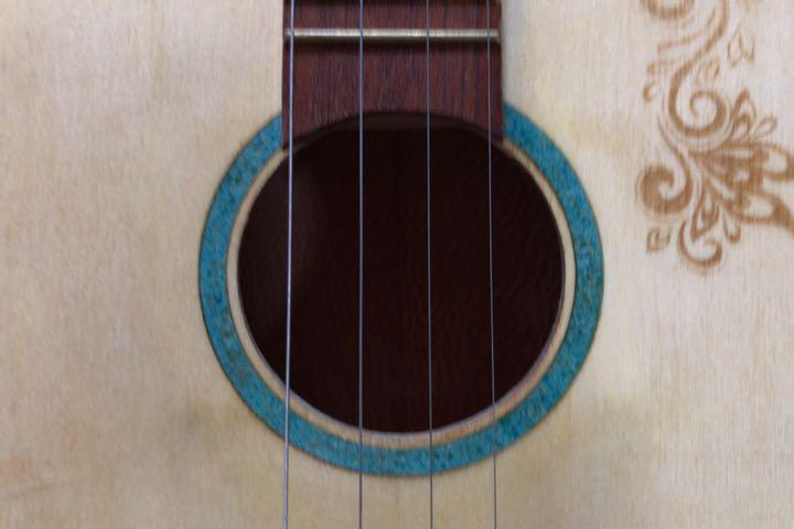 シガーボックス ギター タイプ エレアコ トルコ製 レア_画像2
