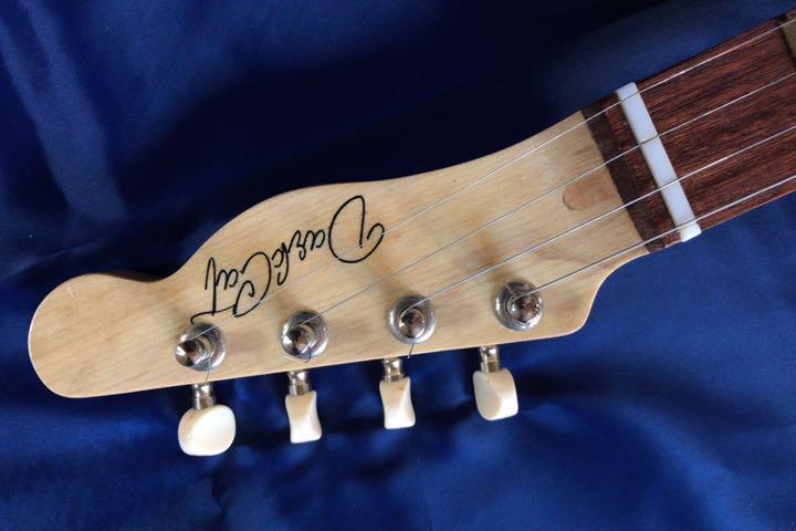 シガーボックス ギター タイプ エレアコ トルコ製 レア_画像6