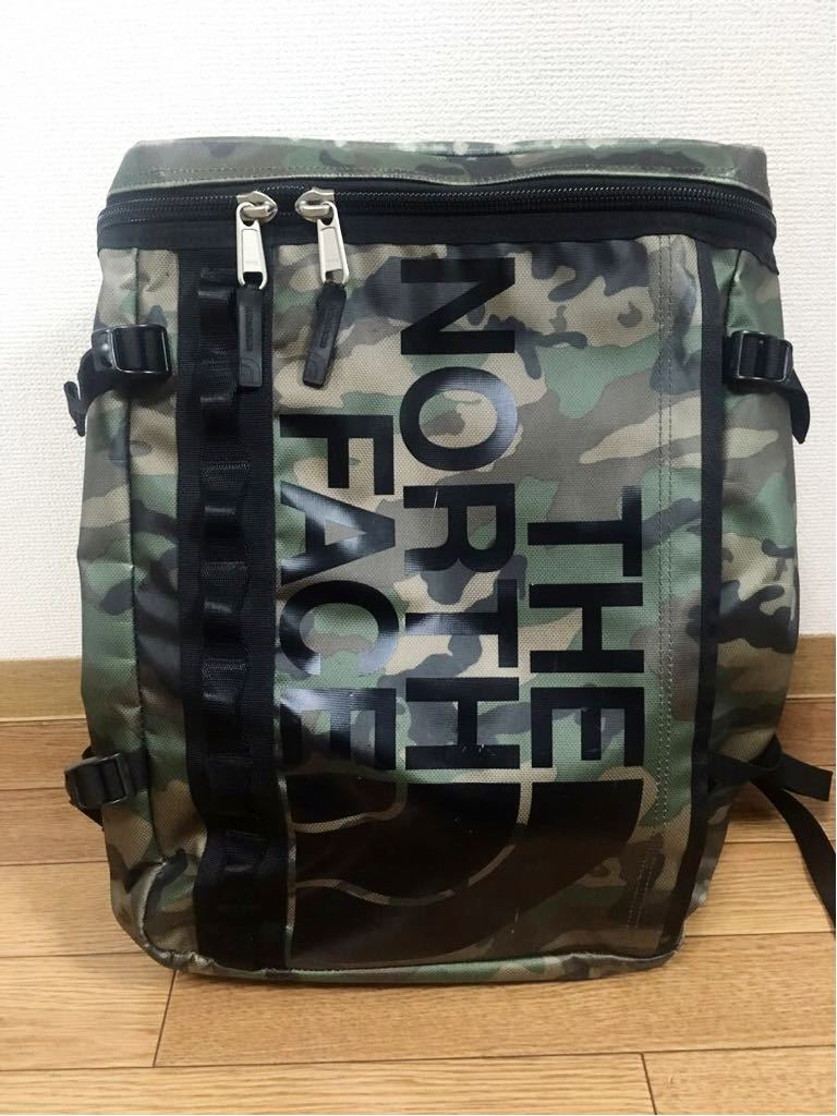 61d0a5b8e North Face fuse box 30L camouflage camouflage backpack rucksack ...