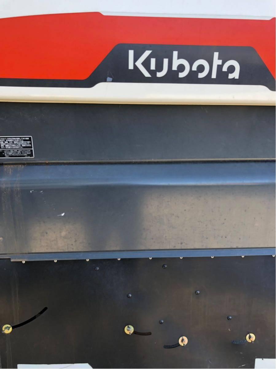 山形発 クボタ コンバイン 5条 キャビン付き AR58_画像9