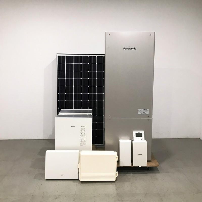 展示場設置品 / Panasonic(パナソニック) / 太陽光蓄電連携システム / 2017年製 / 498万