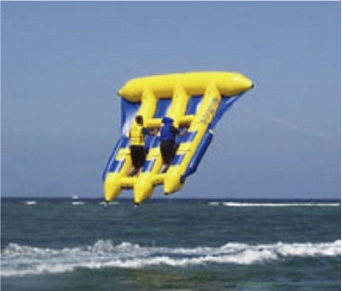 「空飛ぶバナナボートです。」の画像2