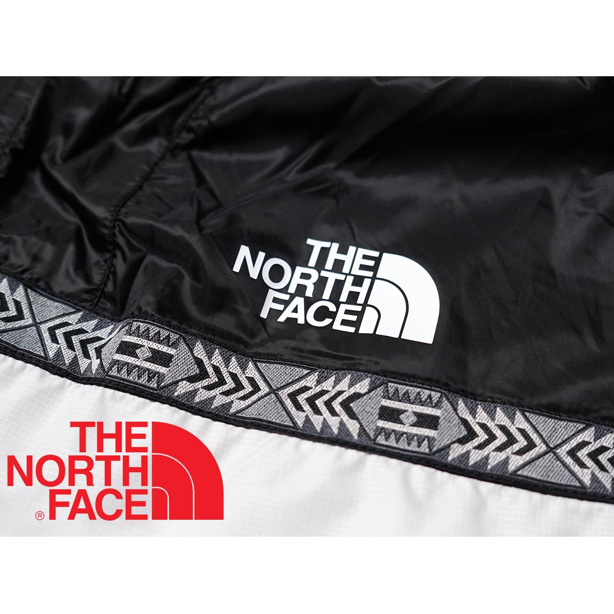 【新品本物 USA購入】THE NORTH FACE ノースフェイス ■ RAGE CYCLONE 2.0 JACKET ■ ホワイトブラック / L ■レイジ 撥水加工 海外限定_画像3