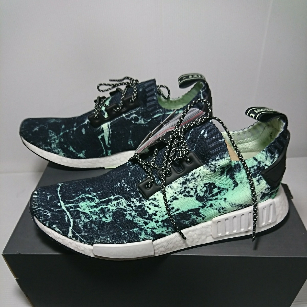 61af23166 new goods adidas Adidas ORIGINALS unused NMD R1 PK prime knitted BB7996 ...