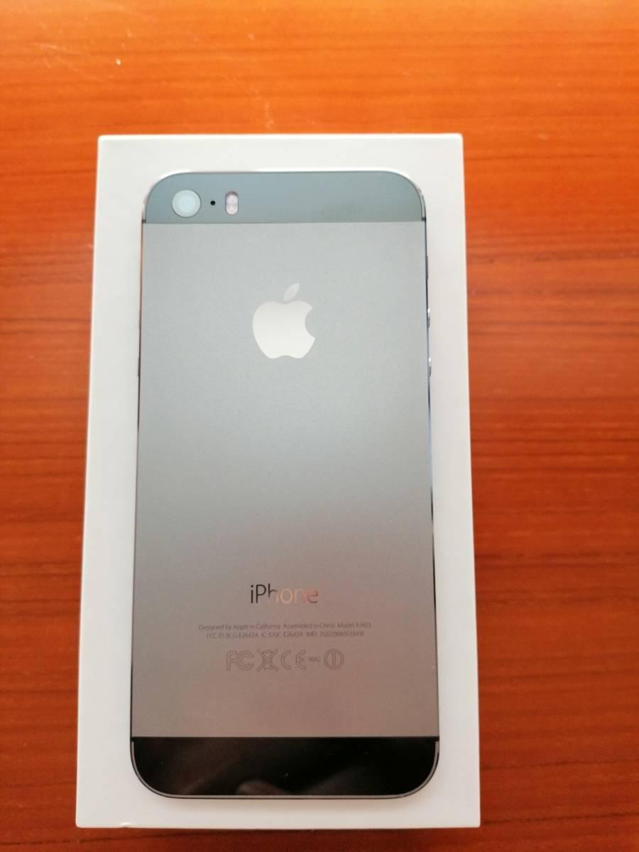 iphone 5s 32GB ブラック ワイモバイル版_画像2