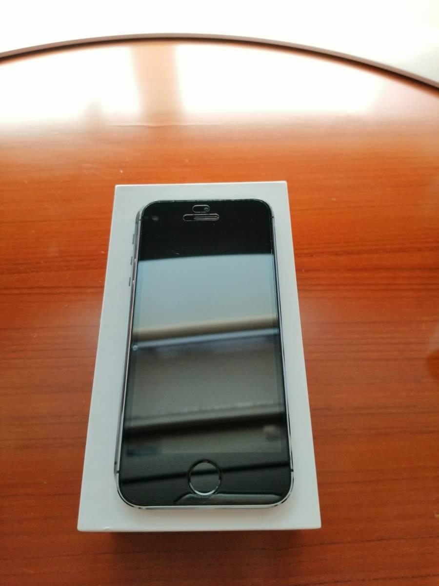 iphone 5s 32GB ブラック ワイモバイル版_画像3
