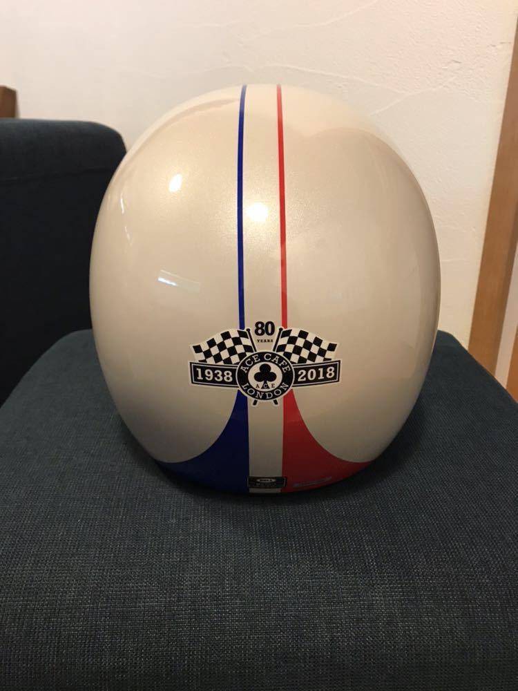 【新品】Bell Moto 3 Ace Cafe GP 66 White Blue Red Off Road Motorcycle Helmet_画像4