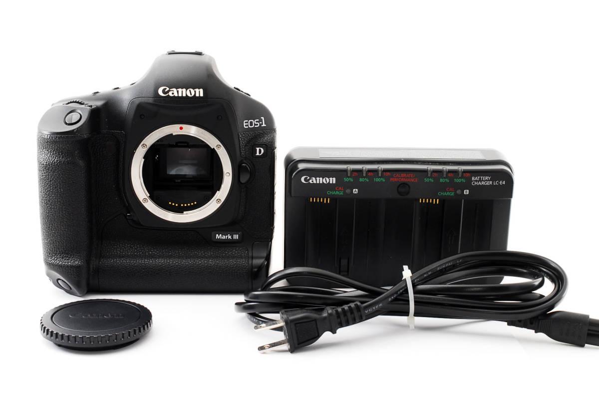 ★ショット数約1万★ Canon キャノン EOS 1D Mark III ボディ 413307_画像1