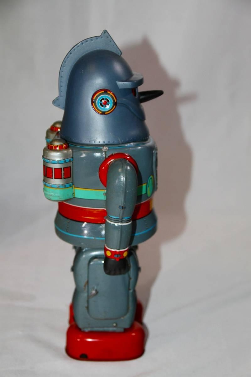 野村トーイ 鉄人28号 ブリキ ロボット玩具 「№2タイプ」当時物 復刻では無い 箱有_画像5