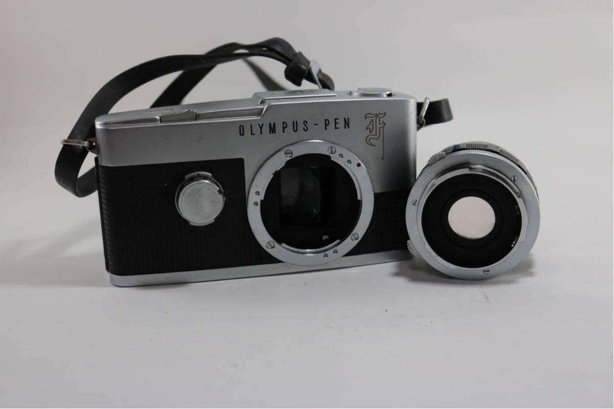 オリンパス(OLYMPUS) PEN F F.Zuiko Auto-s 1:18 f=38mm レンジファインダーカメラ ジャンク!1円スタート♪_画像5