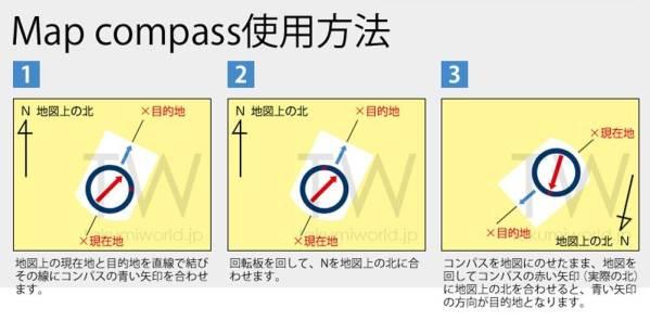 コンパス 検:シルバコンパス互換 SILVA 風水 方位磁石 複数可 (複数の場合は必ずクリックポストをお選びください)_画像2