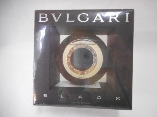 1円 未開封 未使用 ブルガリ ブラック EDT 75ml BVLGARI BLACK 香水 オードトワレ  EDT