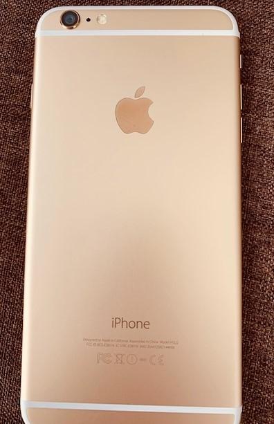 ◇超美品◇ローズゴールド iPhone6 Plus 64GB /64G大容量/Apple NY店購入SIMフリー/新品同様/おまけ
