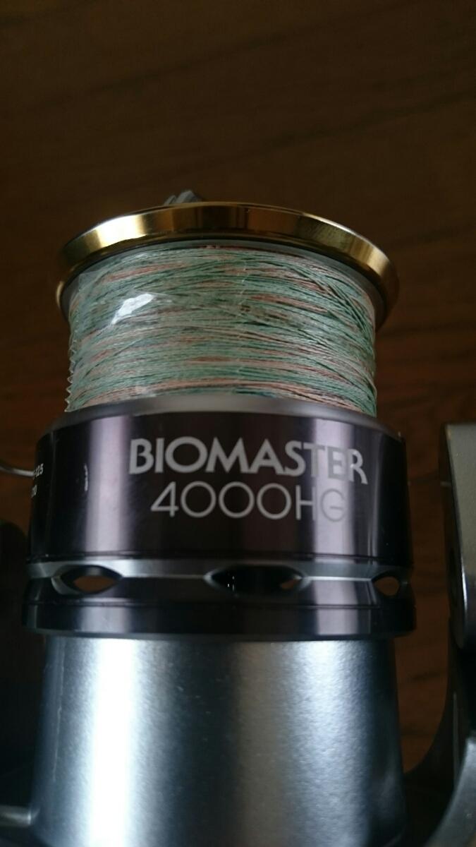 シマノ 11バイオマスター4000HG 17ツインパワーXDハンドルノブ ベルハンマー組み立て_画像5