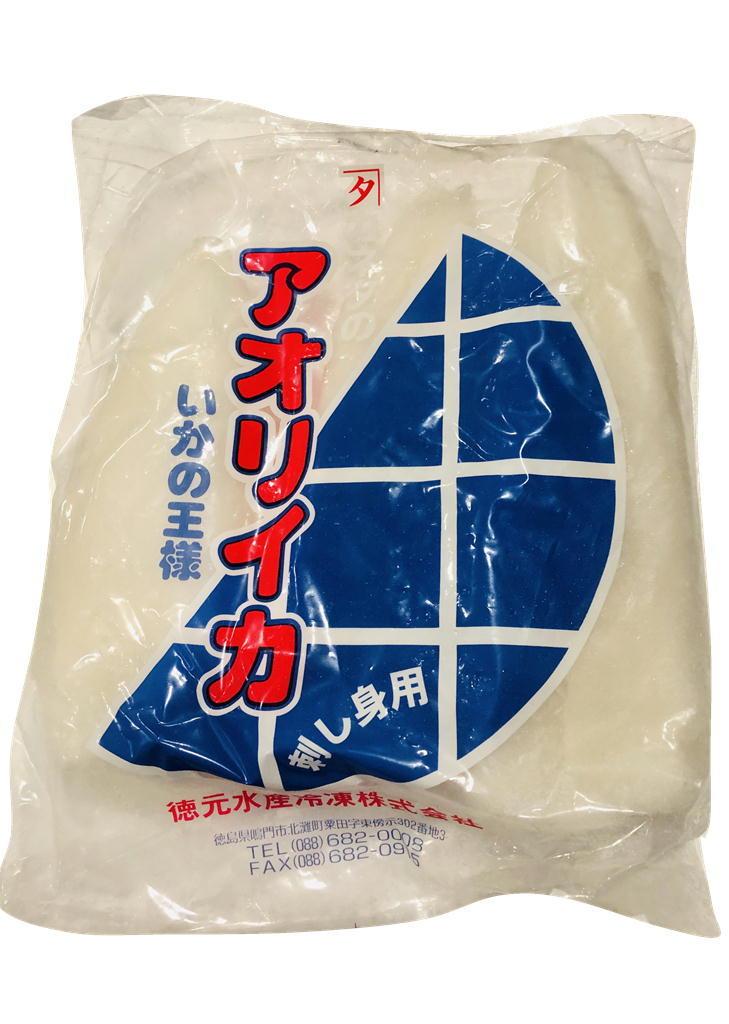 あおりいか・IQF・1㎏【刺身用・寿司種・生食用】皮がむいてあるので簡単調理 ①_画像1