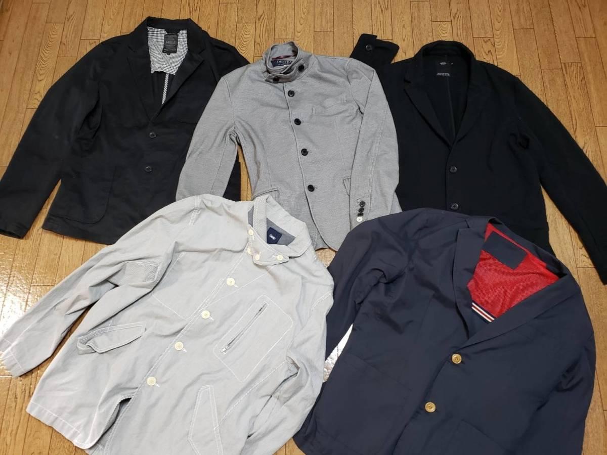 a96ae3d8aa578 代購代標第一品牌- 樂淘letao - C6-14 男性アウタージャケット薄手ジャンパーその他ブランド21点まとめ売り業販卸大量洋服仕入れUSED