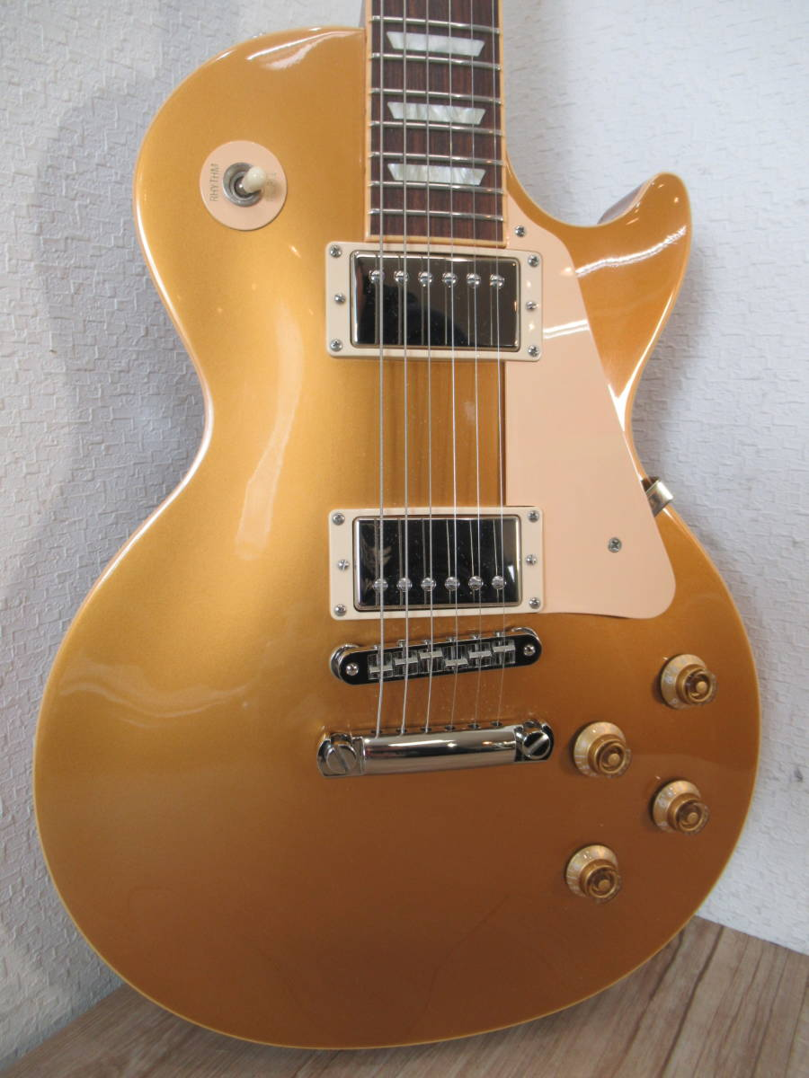 即配送!Gibson◆Les-Paul Standard GoldTop◆2007年