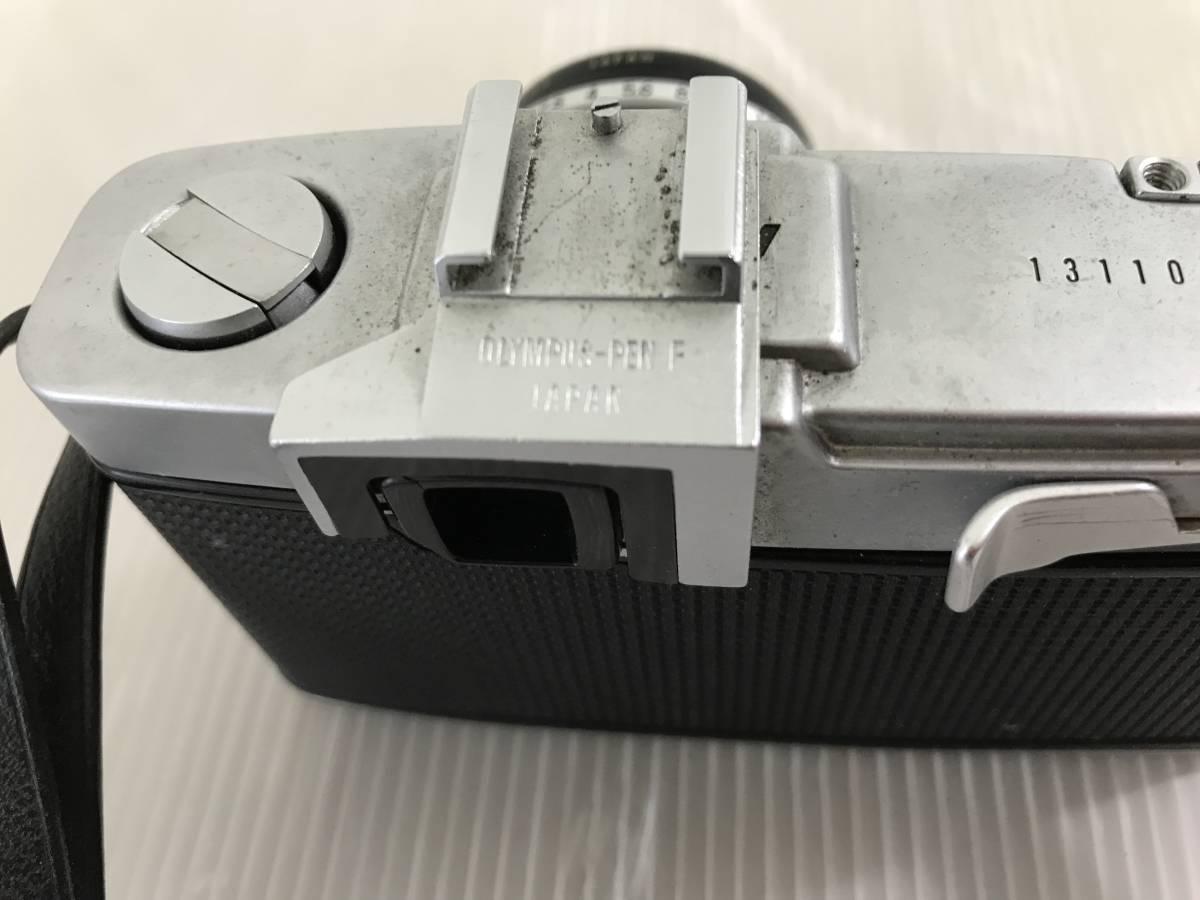 オリンパス フィルムカメラ PEN-F 1:1.8 f=38mm 青良03 0314_画像5