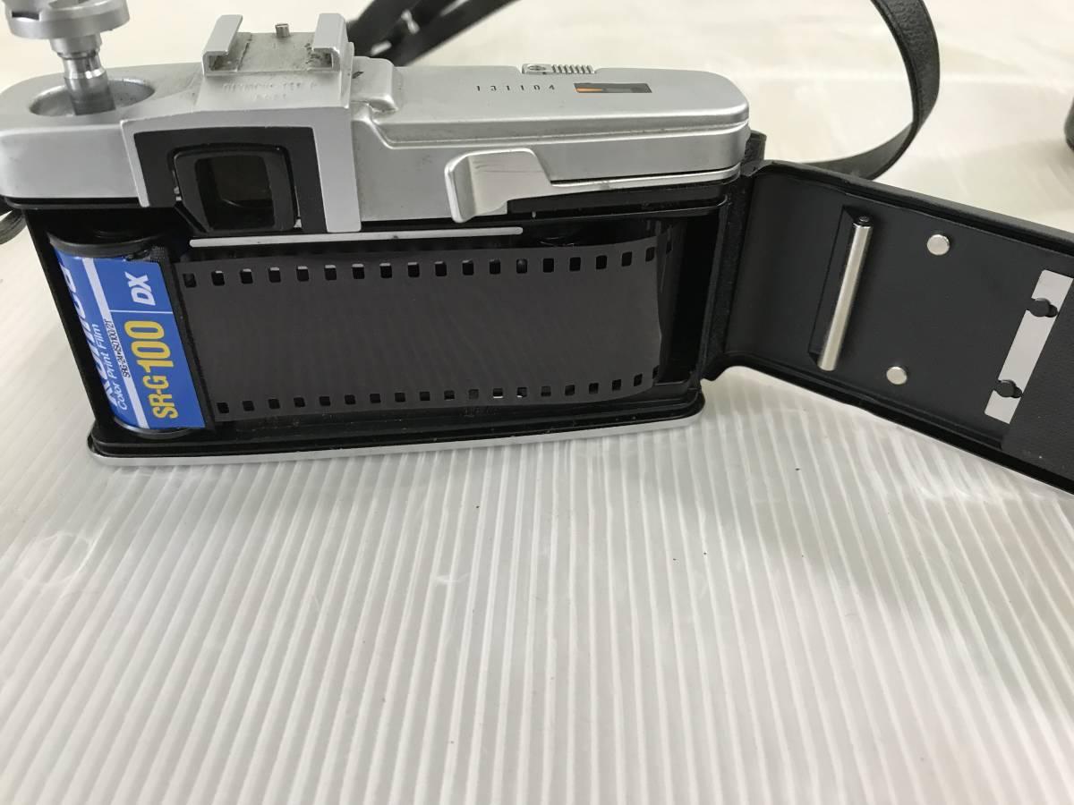 オリンパス フィルムカメラ PEN-F 1:1.8 f=38mm 青良03 0314_画像7