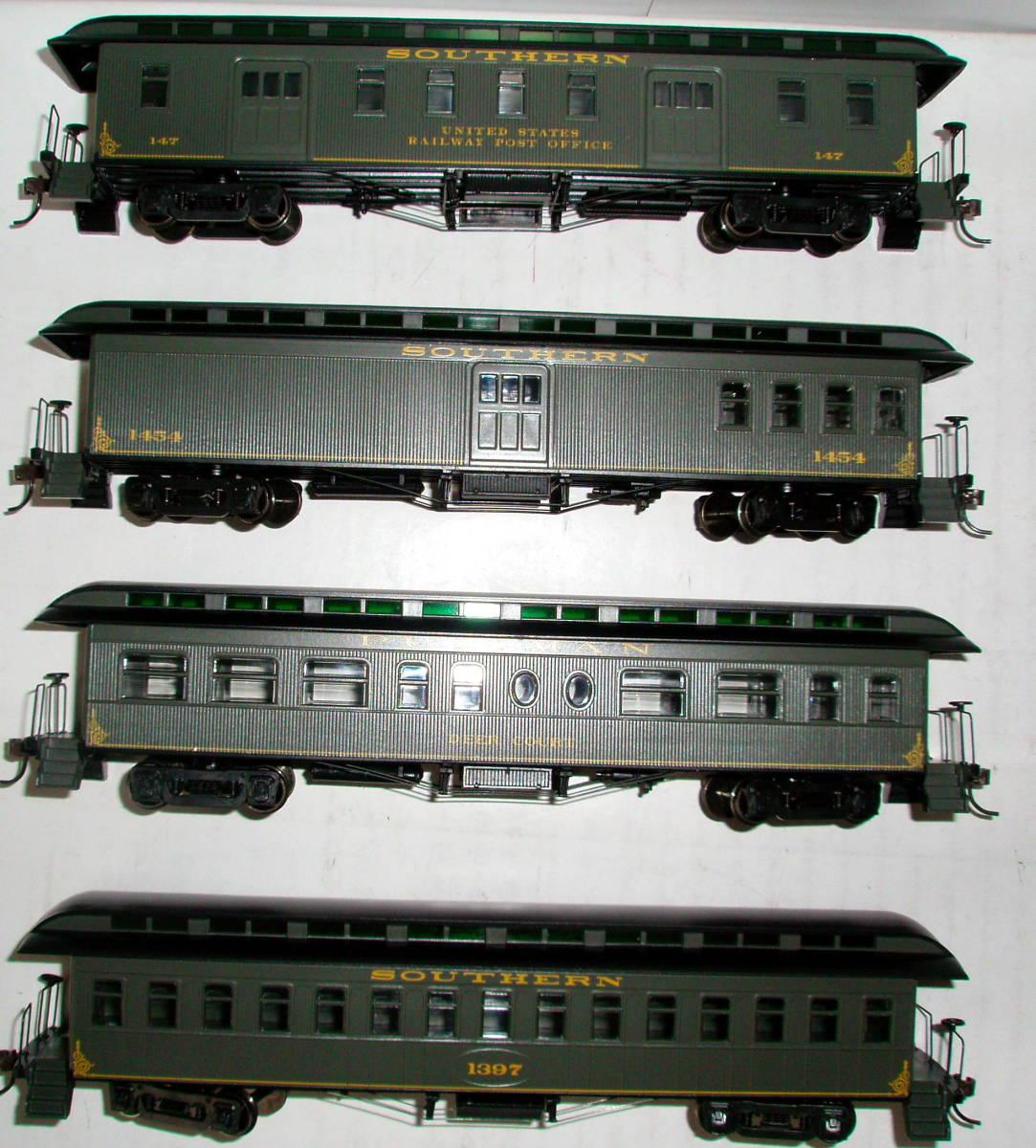 HOゲージ サザン 旧型客車 4両セット アサーン_画像2