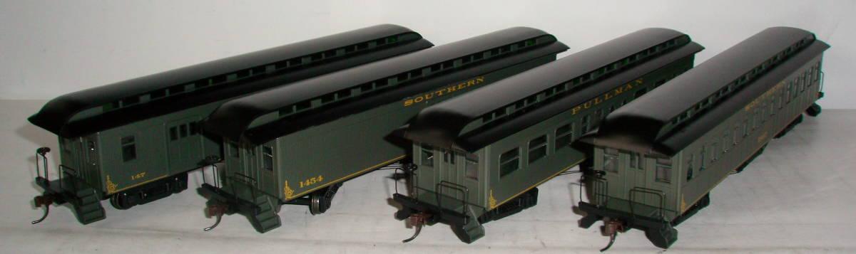 HOゲージ サザン 旧型客車 4両セット アサーン