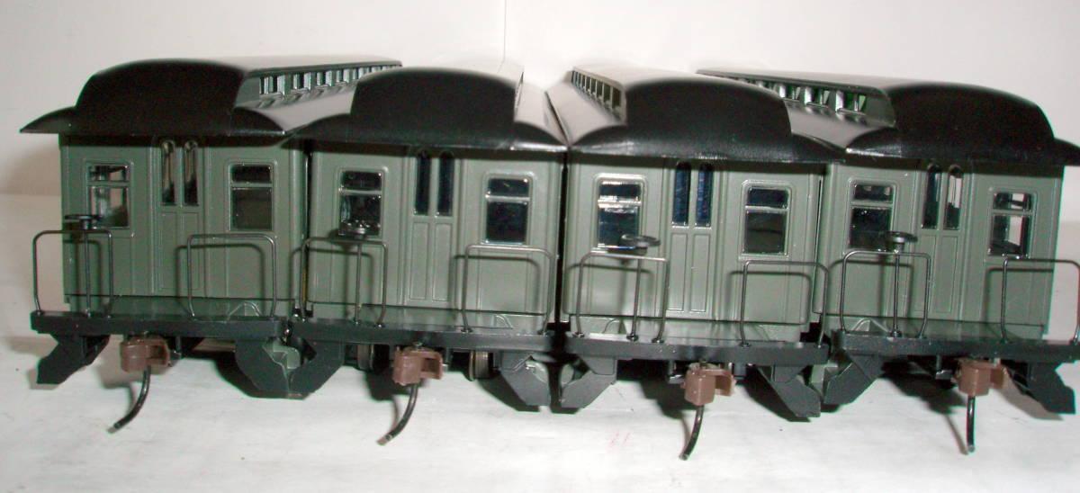 HOゲージ サザン 旧型客車 4両セット アサーン_画像3