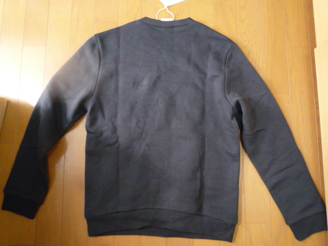 リーボック アイコニック クルーネックスウェット トレーナーS黒新品 7,549円_画像3
