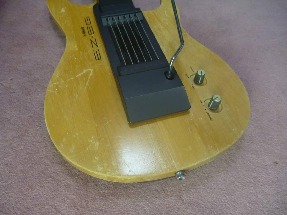 ヤマハ YAMAHA EZ-EG・ギター型シンセサイザー MIDIギター動作可 イージーギター _画像5
