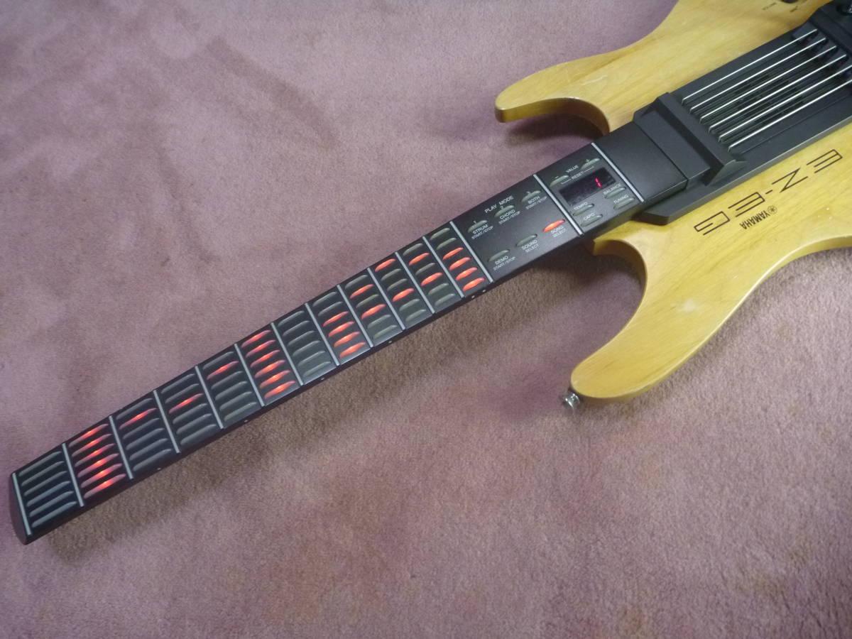 ヤマハ YAMAHA EZ-EG・ギター型シンセサイザー MIDIギター動作可 イージーギター _画像2