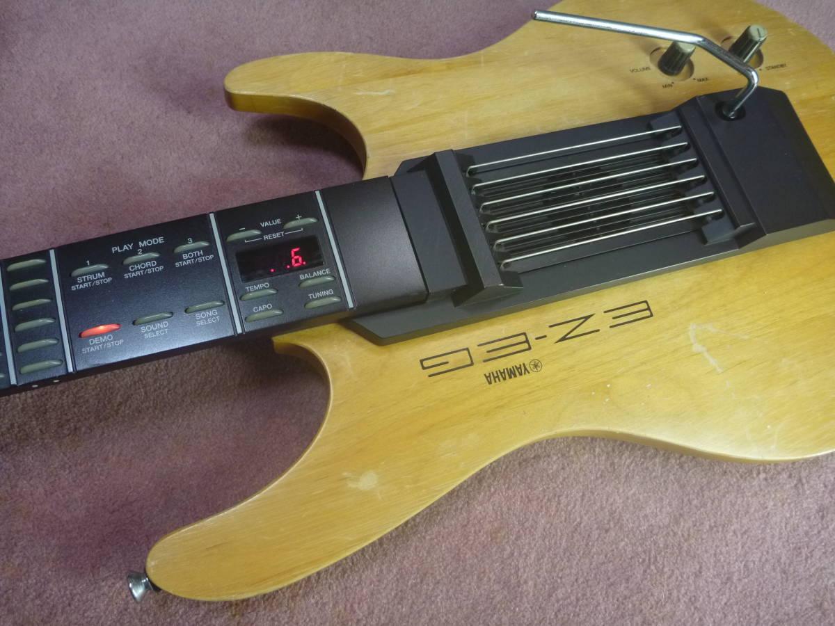 ヤマハ YAMAHA EZ-EG・ギター型シンセサイザー MIDIギター動作可 イージーギター _画像3