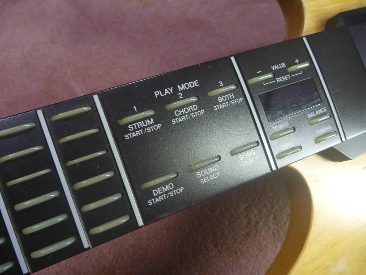 ヤマハ YAMAHA EZ-EG・ギター型シンセサイザー MIDIギター動作可 イージーギター _画像9