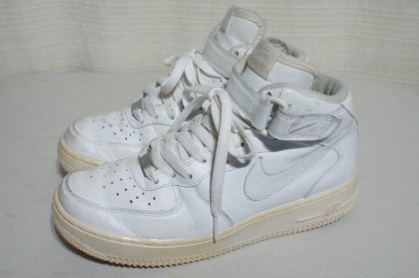 NIKE AIR FORCE 1 white US6.5 24.5cm Air Force one : Real