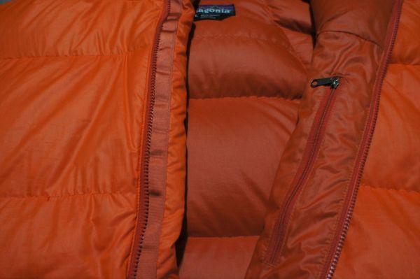 パタゴニア F9 フィッツロイ ダウンジャケット オレンジ L/patagonia_画像5