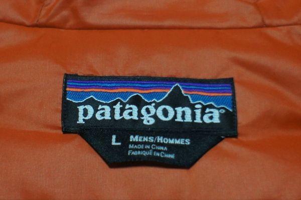 パタゴニア F9 フィッツロイ ダウンジャケット オレンジ L/patagonia_画像3