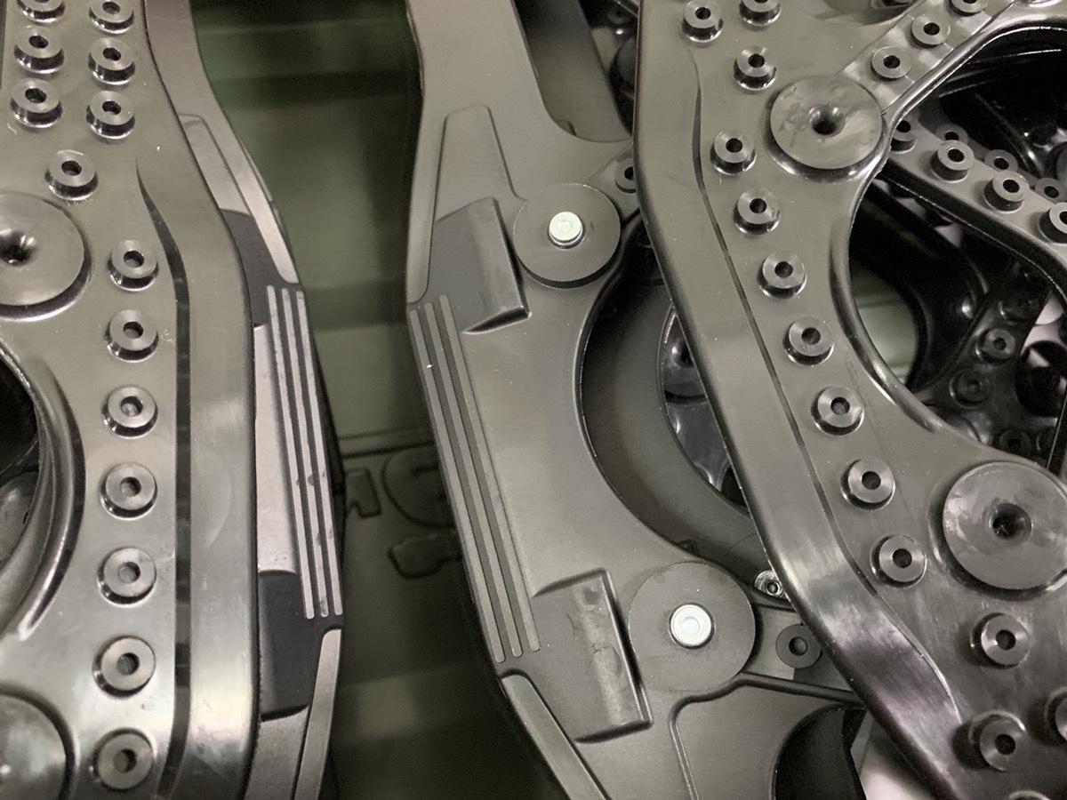 開封 未使用 CAR MATE カーメイト 非金属タイヤチェーン バイアスロン クイックイージー QE14_画像5