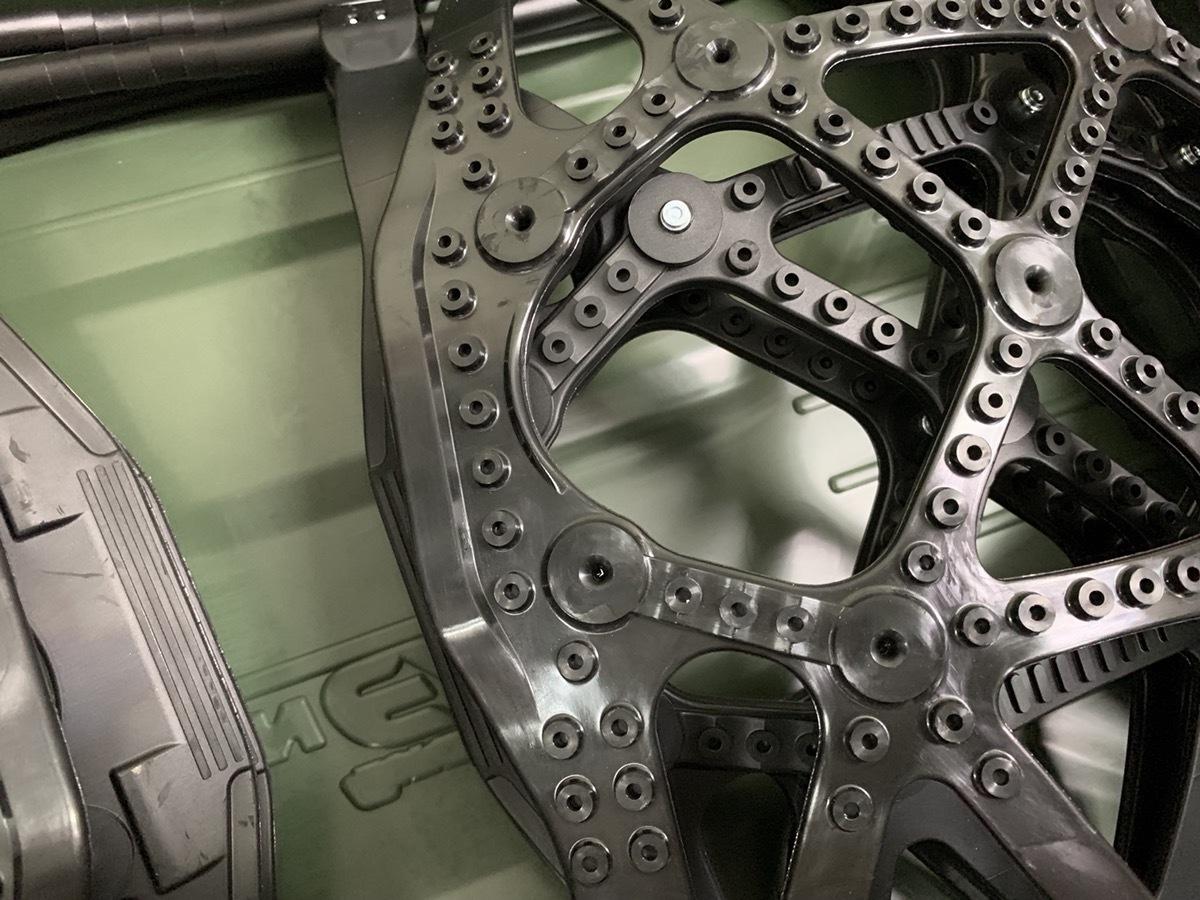 開封 未使用 CAR MATE カーメイト 非金属タイヤチェーン バイアスロン クイックイージー QE14_画像6