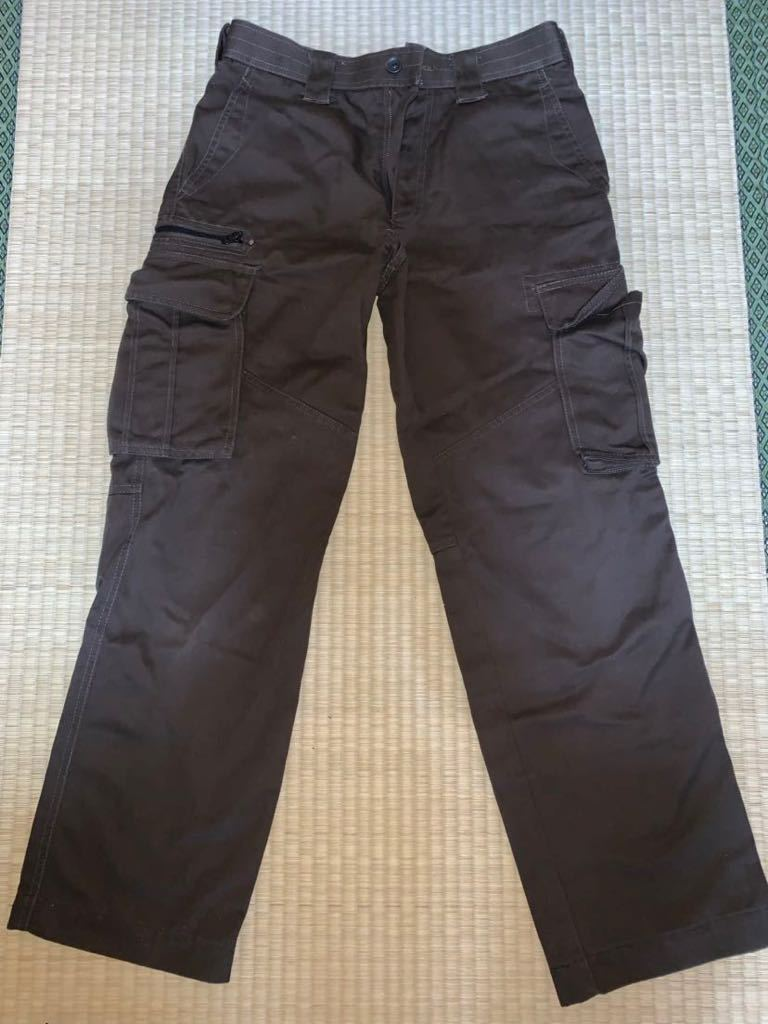 Dickies ディッキーズ 作業用ズボン パンツ チャコールブラウン 状態良好