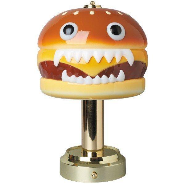 新品未開封 UNDERCOVER MEDICOM TOY HAMBURGER LAMP アンダーカバー メディコム トイ ハンバーガー ランプ UC ライト 2018年 復刻 JONIO