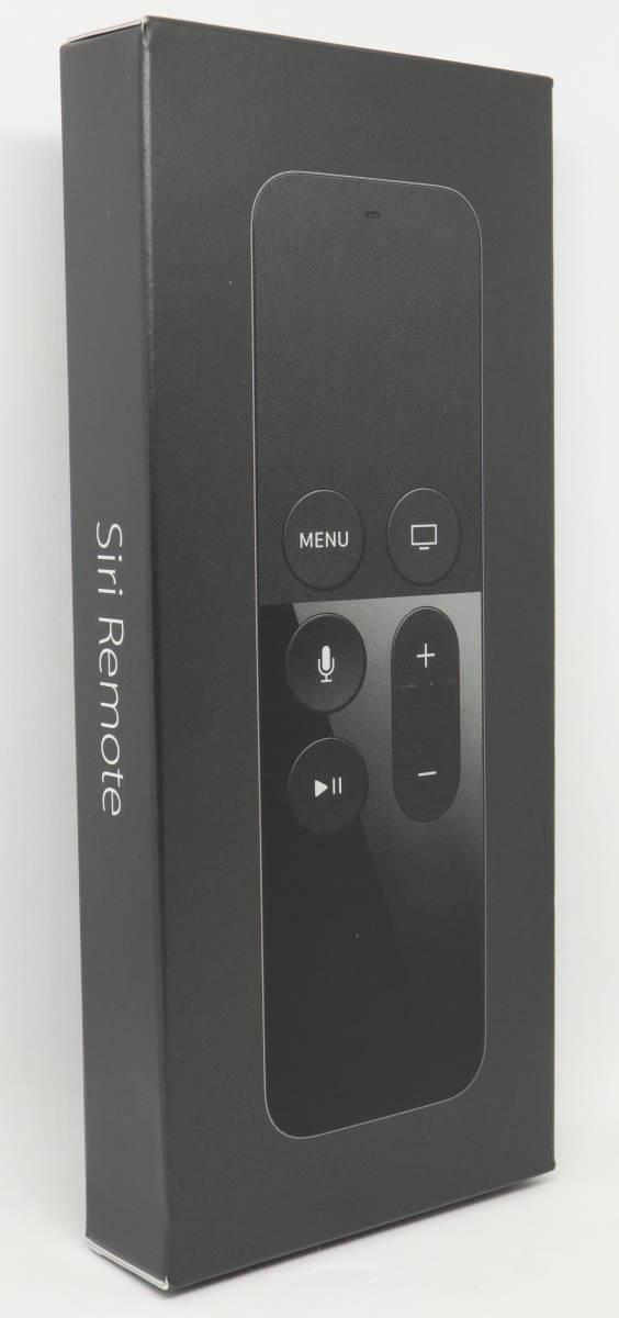 正規国内品 新品 Apple 純正 Siri Remote MLLC2J/A Apple TV (第4世代) 用 メーカー保証2020年2月迄 未使用 未開封 Apple TV用リモコン ②