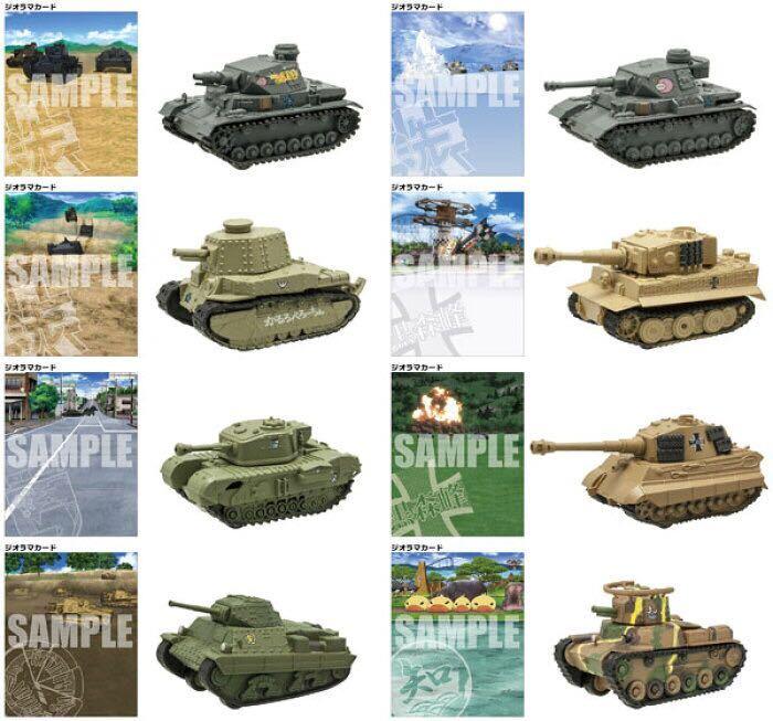 チャーチル歩兵戦車Mk.VII 聖グロリアーナ女学院 08 ガールズ&パンツァー 最終章 プルバックタンク 2.5 ガルパン エフトイズ_画像3