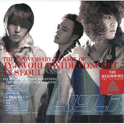 廃盤【JYJ】1st ALBUM「THE BEGINNING」THE ANNIVERSARY PACKAGE OF JYJ WORLDWIDE CONCERT IN SEOUL 2CD+DVD_画像1