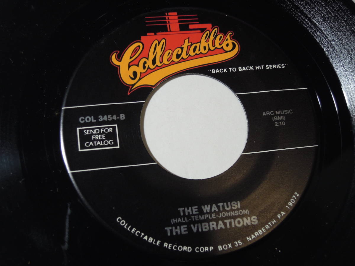 """The Dells・The Love We Had Stays / The Vibrations・The Watusi US 7"""""""
