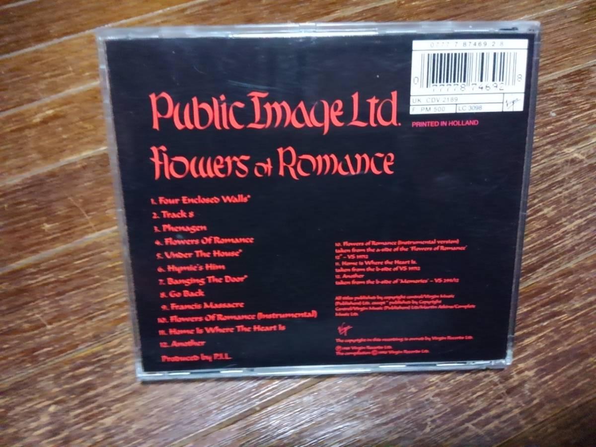 Public Image Ltd The Flowers Of Romance パブリック・イメージ・リミテッド pil ジョン・ライドン John Lydon_画像2