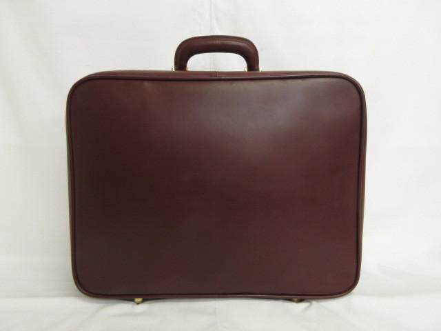 本物■極美品■Cartier■カルティエ■マスト■レザースーツケース■ハンドバッグ■40万■w3w24g_画像2