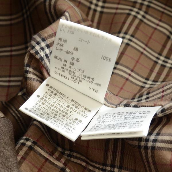 バーバリー ブラックレーベル トレンチコート ライナー付 size 36_画像8