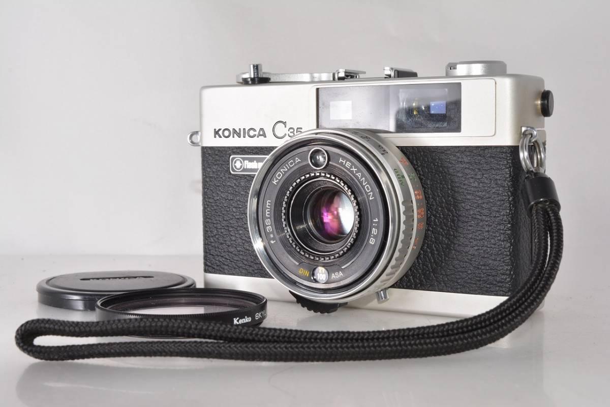 コニカ KONICA C35 flash matic ★極上光学★ #h650_画像1