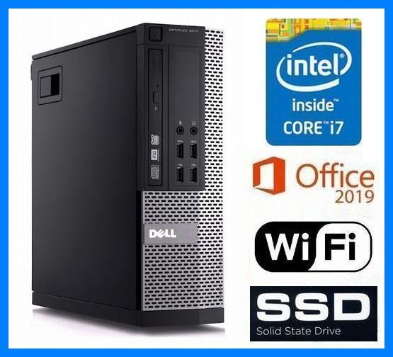 究極PC◆i7-4790(4.00GHz×8)◆20GBメモリ◆新品SSD 1TB◆新品HDD 3TB◆Wi-Fi (無線LAN)