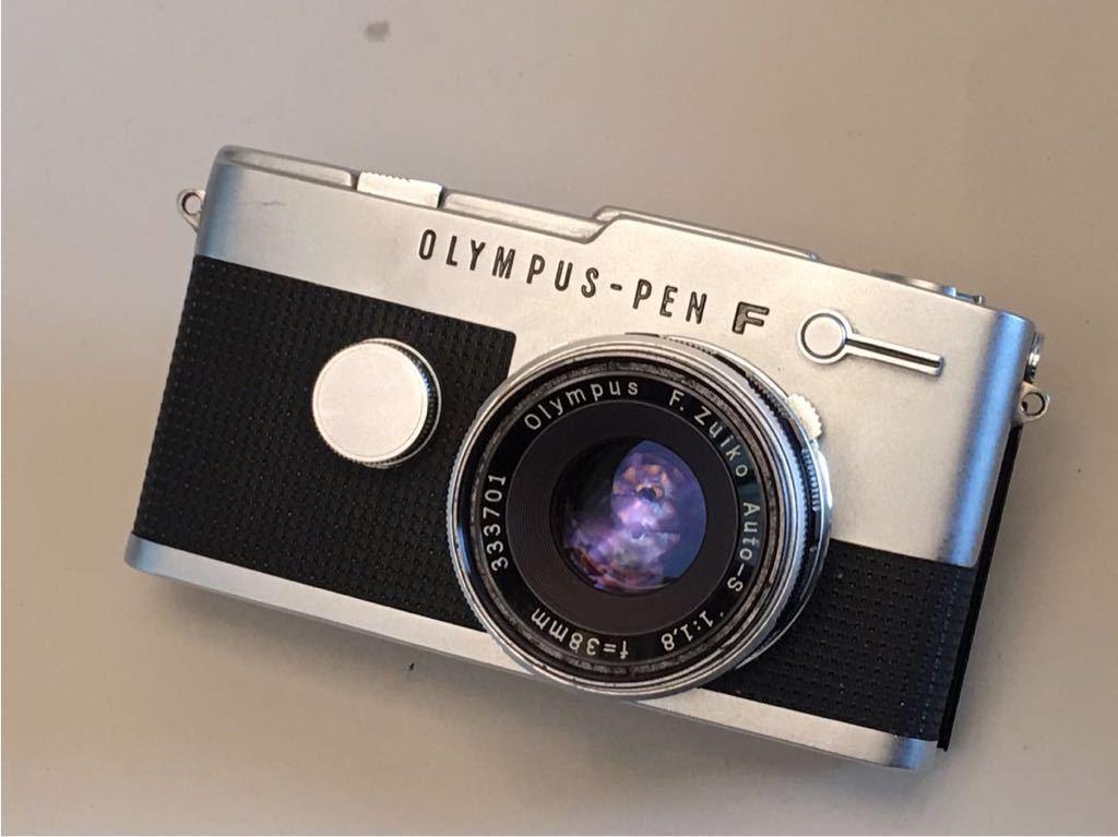 OLYMPUS-PEN F 中古品です。